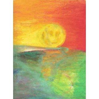 cuadros abstractos - Cuadro -Abstracto Atardecer_11- - Molsan, E.