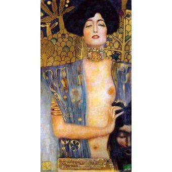cuadros de retrato - Cuadro -Judith II- - Klimt, Gustav