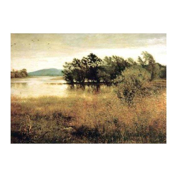 cuadros de paisajes - Cuadro -Chill October-
