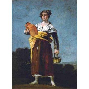 - Cuadro -La Aguadora- - Goya y Lucientes, Francisco de