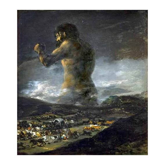 cuadros de retrato - Cuadro -El Coloso-