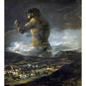 - Cuadro -El Coloso- - Goya y Lucientes, Francisco de