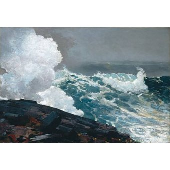 - Cuadro -Northeaster- - Homer, Winslow
