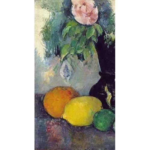 Cuadro -Flores y frutas (1886)-