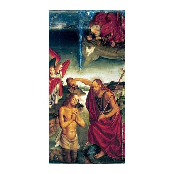 cuadros religiosos - Cuadro -Bautismo De Cristo-