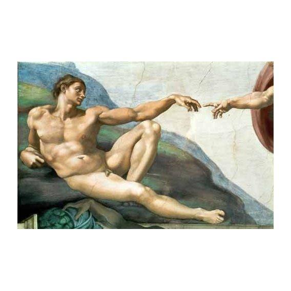 cuadros religiosos - Cuadro -La Creación De Adan-