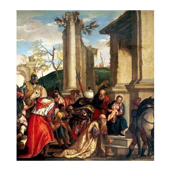 cuadros religiosos - Cuadro -Adoración De Los Reyes Magos-