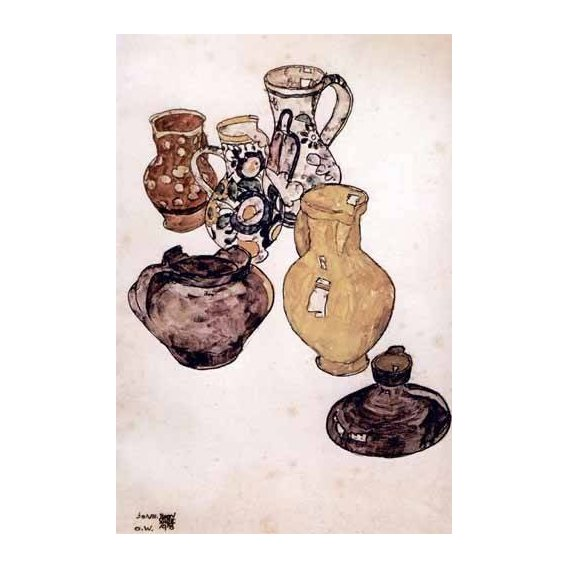 cuadros de bodegones - Cuadro -Alfareria-