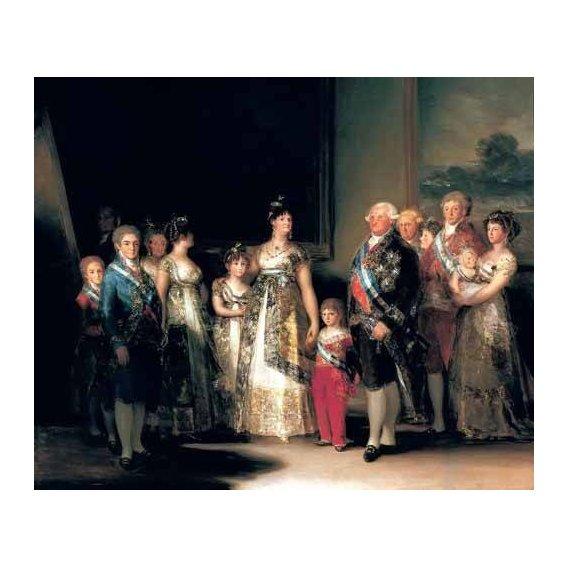 cuadros de retrato - Cuadro -Retrato de la Familia de Carlos IV de España-
