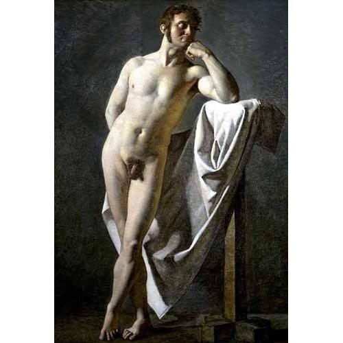 Cuadro -Estudio anatómico de un hombre-