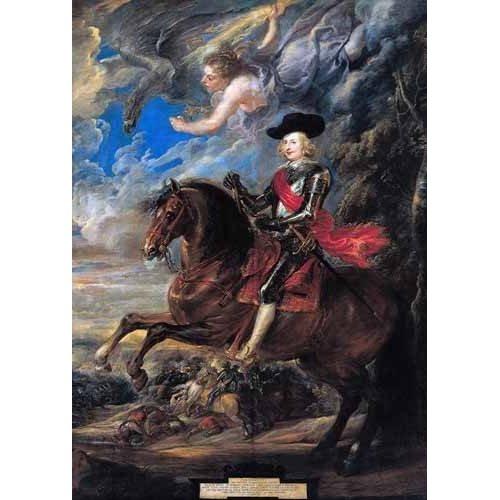 Cuadro -Don Fernando de Austria en la batalla de Nordlingen-