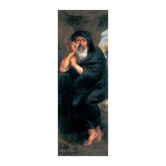 cuadros de retrato - Cuadro -Heráclito, el filosofo que llora-