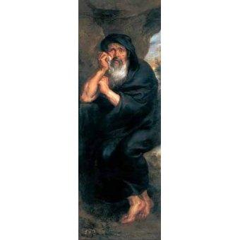 - Cuadro -Heráclito, el filosofo que llora- - Rubens, Peter Paulus