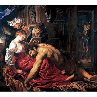 - Cuadro -Sansón y Dalila- - Rubens, Peter Paulus