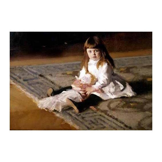 cuadros de retrato - Cuadro -Los hijos de Edward D. Boit-
