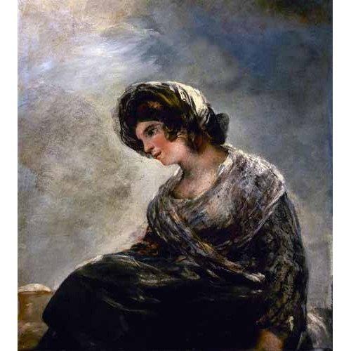 cuadros de retrato - Cuadro -La lechera de Burdeos-
