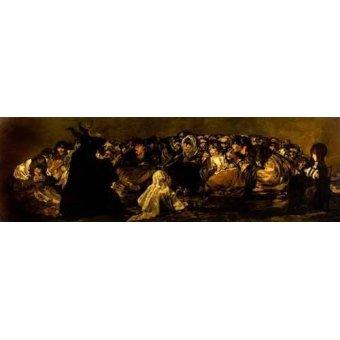 - Cuadro -El Aquelarre: El Gran cabrón- - Goya y Lucientes, Francisco de