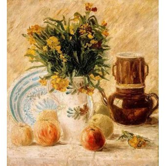 - Cuadro -Bodegón, 1887- - Van Gogh, Vincent
