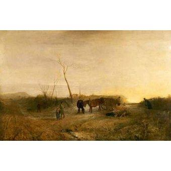 - Cuadro -Mañana glacial- - Turner, Joseph M. William