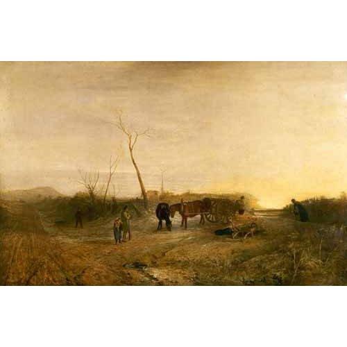 cuadros de paisajes - Cuadro -Mañana glacial-