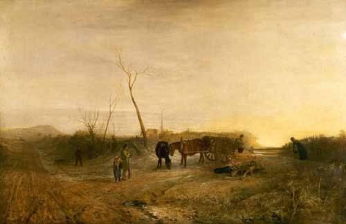 cuadros-de-paisajes - Cuadro -Mañana glacial- - Turner, Joseph M. William