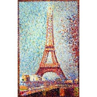 - Cuadro -La Torre Eiffel- - Seurat, Georges