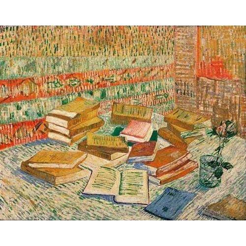 Cuadro -Los libros amarillos, 1887-
