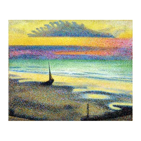 cuadros abstractos - Cuadro -The Beach (Heist)-