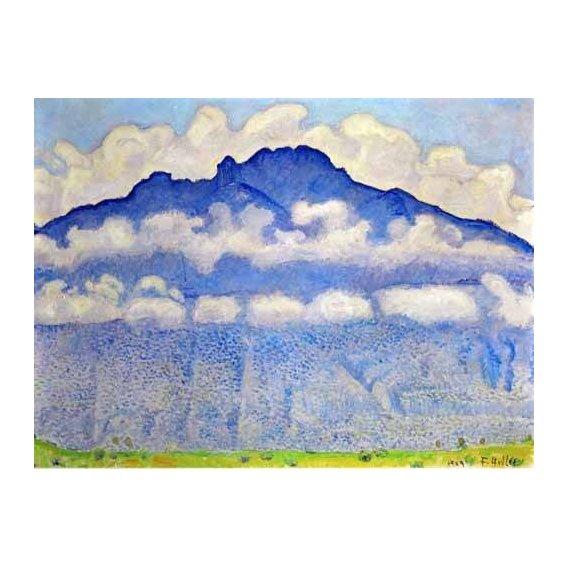 cuadros de paisajes - Cuadro -Landscape in the Berne Oberland-