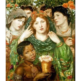 - Cuadro -The Beloved- - Rossetti, Dante Gabriel