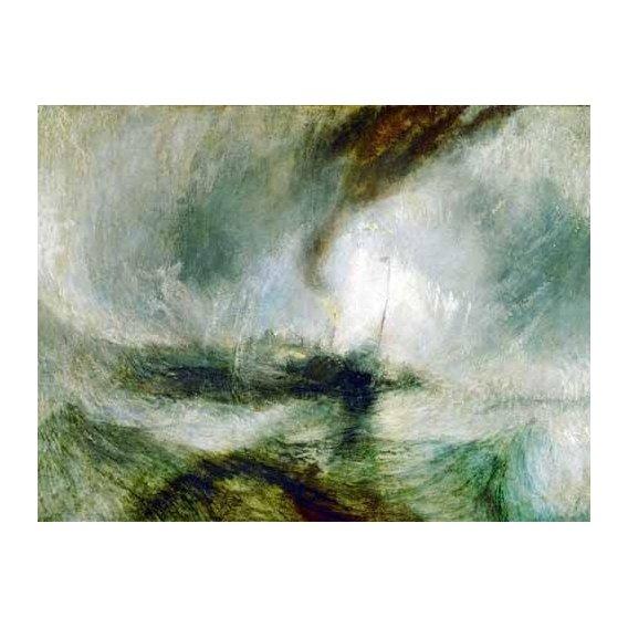 cuadros de marinas - Cuadro -Snow Storm-