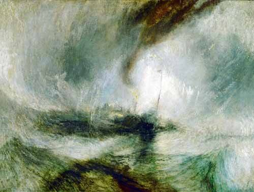 cuadros-de-marinas - Cuadro -Snow Storm- - Turner, Joseph M. William