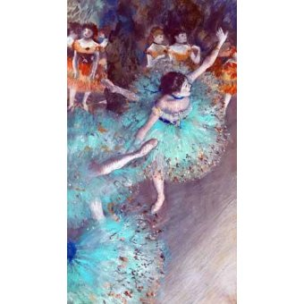 - Cuadro -Green Dancer- - Degas, Edgar