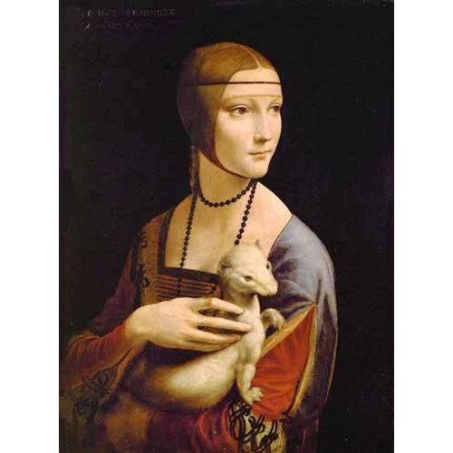 Cuadro -Dama con un armiño-
