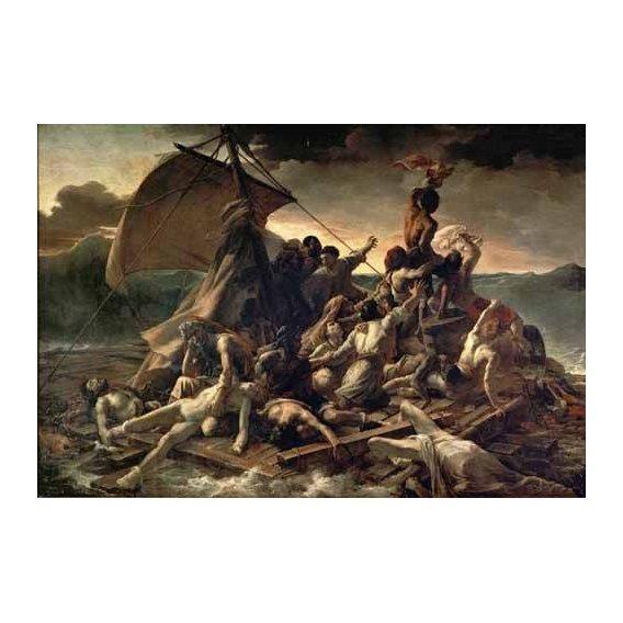 cuadros de retrato - Cuadro -La Balsa De La Medusa-