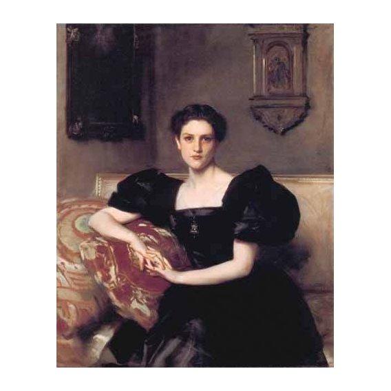 cuadros de retrato - Cuadro -Retrato de Elizabeth Winthrop Chanler-