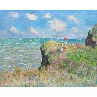 - Cuadro -Etretat- - Monet, Claude