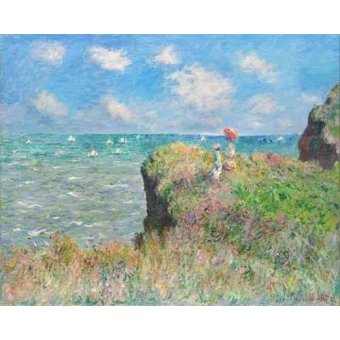cuadros de marinas - Cuadro -Etretat- - Monet, Claude
