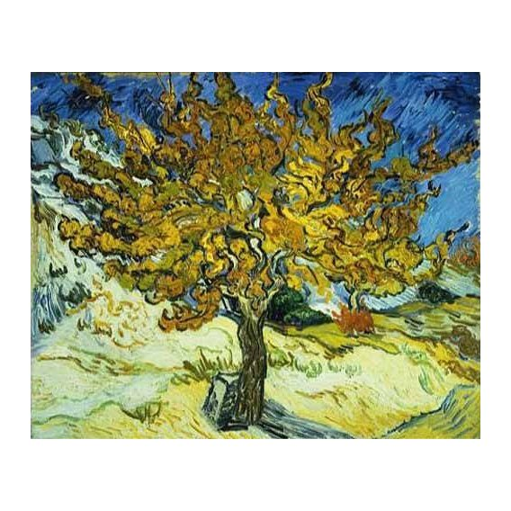 cuadros de paisajes - Cuadro -Mulberry Tree, 1889-