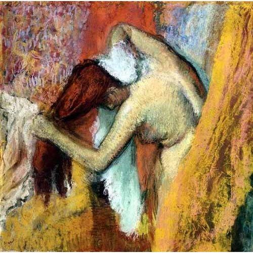 cuadros decorativos - Cuadro -Mujer aseándose, 1894-