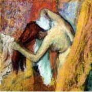 Cuadro -Mujer aseándose, 1894-