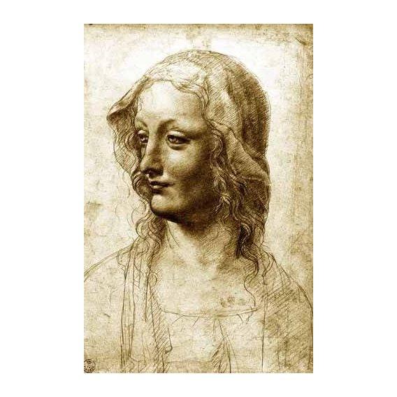 cuadros de retrato - Cuadro -Cara de una mujer-