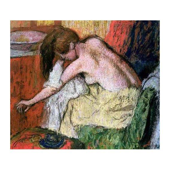cuadros decorativos - Cuadro -Mujer secándose, 1888-