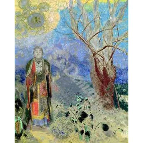 cuadros etnicos y oriente - Cuadro -The Buddha (Buda)-