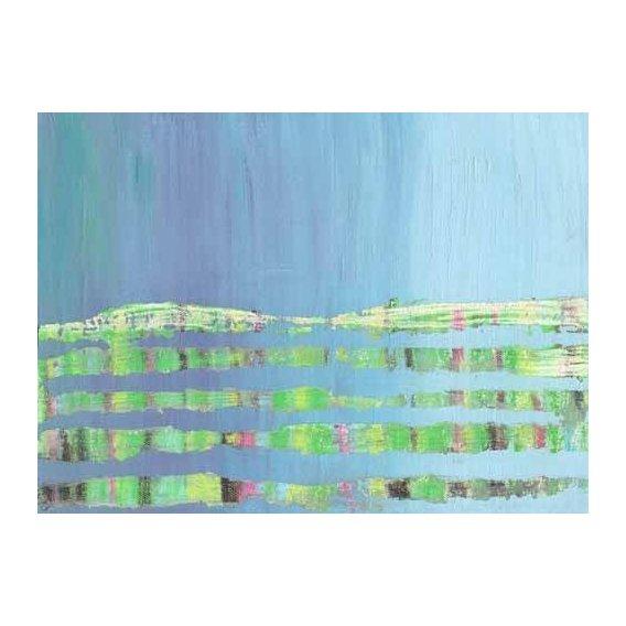cuadros abstractos - Cuadro -Abstracto Stream (I).-