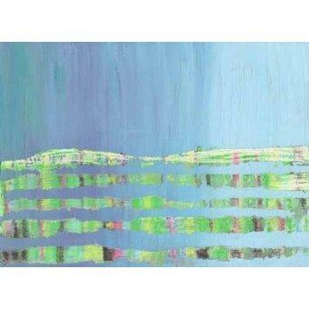 cuadros abstractos - Cuadro -Abstracto Stream (I).- - Vicente, E. Ricardo