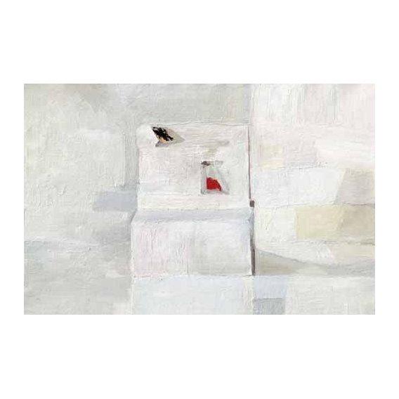cuadros abstractos - Cuadro -Abstracto Greys (III)-