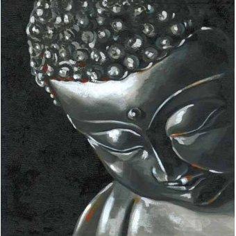 cuadros etnicos y oriente - Cuadro -Buda (I)- - Vicente, E. Ricardo