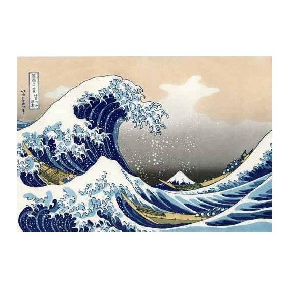 cuadros etnicos y oriente - Cuadro -Tsunami-