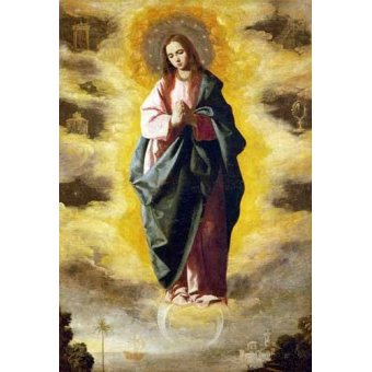cuadros religiosos - Cuadro -La Inmaculada Concepcion- - Zurbaran, Francisco de